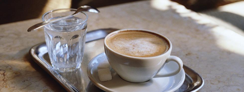 Gewoon Gouds koffie terras