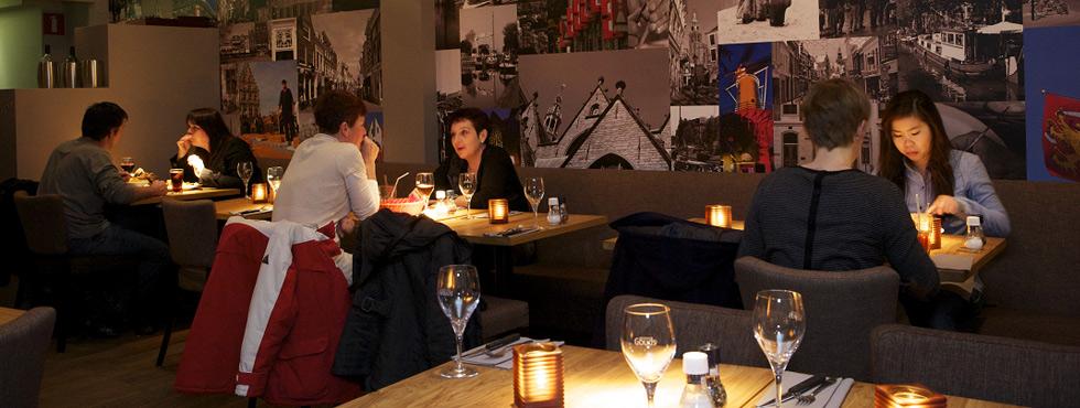 Gewoon Gouds menukaart restaurant Gouda