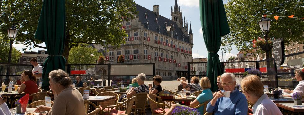 Gewoon Gouds Restaurant Gouda met terras